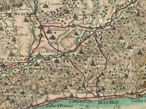 Mpa corregiment de Mataró